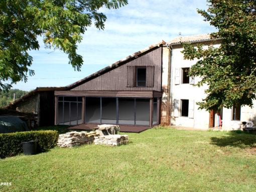 RENOVATION DE CARACTERE BIOCLIMATIQUE & ECOLOGIQUE : Transformation d'une bâtisse ancienne – 81
